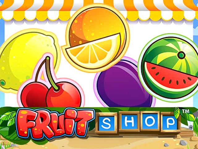 Онлайн-автомат с гарантированными фриспинами - Fruit Shop