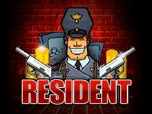 Онлайн-автомат с бонусами и риск-раундом - Resident